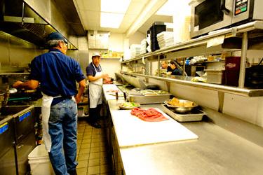 Restaurant Kitchen Setup